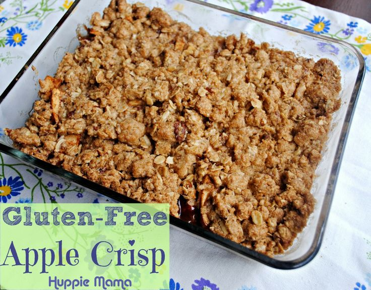 Gluten-Free Apple Crisp & Sweet Cravings Book Review