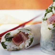 Tuna Summer Rolls | Yummy - Appitizers | Pinterest
