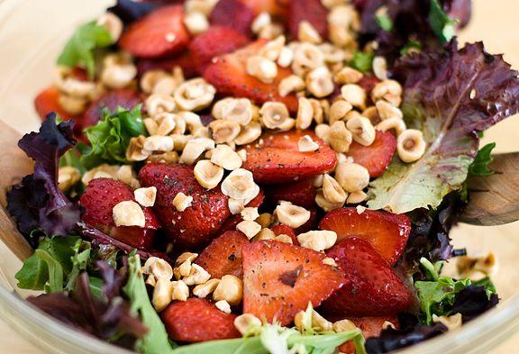 ... Hazelnut Salad with Balsamic Vinaigrette = summer salad love