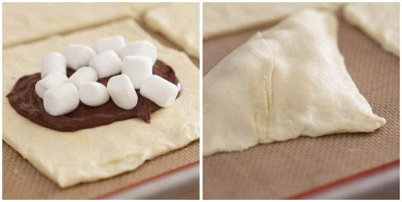 Nutella-Mallow Pillow Pockets