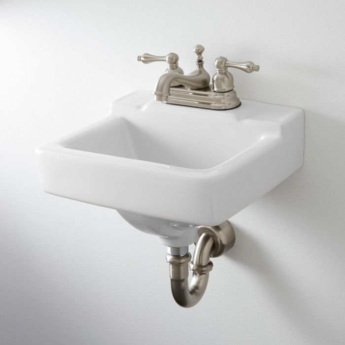 Gerber West Point Wall-Hung Lavatory Bathroom Pinterest