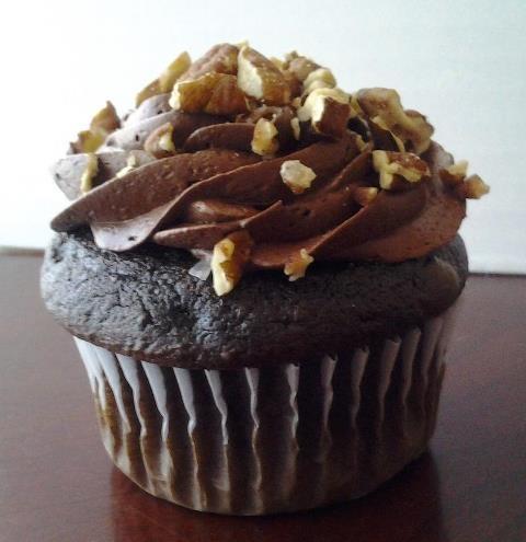 German chocolate stuffed cupcake! | Sweets | Pinterest