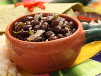 Cuban Style Black Beans | mrfood.com