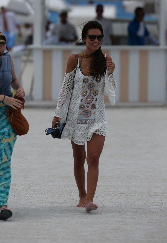Крючком пляж Одрина Пэтридж платье