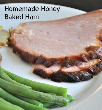 Easter Brunch - Homemade Honey Baked Ham on TodaysMama.com #easter # ...