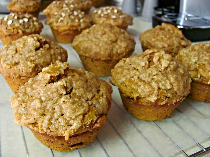 Pumpkin Spice Muffins with Streusel Southern Plate ...only 2 ...