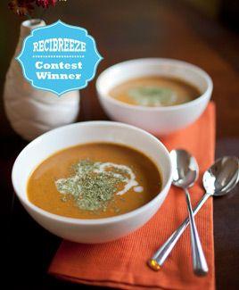 Thai Spiced Pumpkin Soup Almond Breeze : Recipes & Ideas
