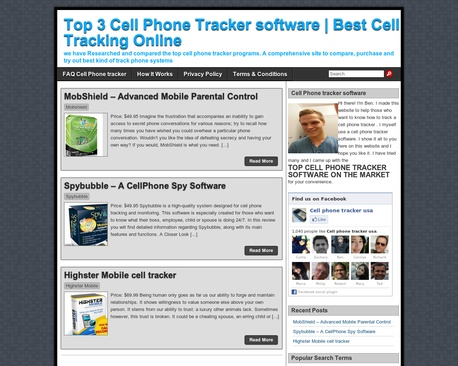 tracking cell phone users