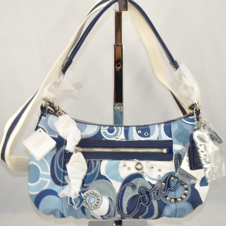 COACH POPPY | DENIM BLUE GROOVY BAG