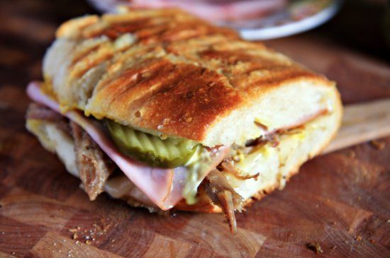 Cuban Sandwich - reminds me of college. Possibly the only thing I miss ...
