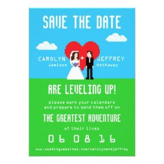 Nerdy Wedding Invitations is one of our best ideas you might choose for invitation design