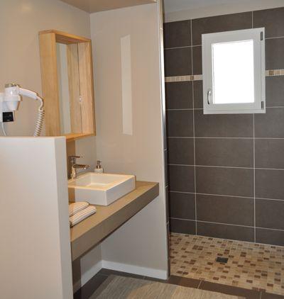 Salle d 39 eau avec douche l 39 italienne salle de bain - Salle de bains avec douche italienne ...