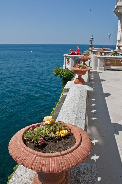 Italy  - Friuli Venezia Giulia  - Trieste - Miramare Castle and Gardens - Trieste, Friuli-Venezia Giulia, Italy
