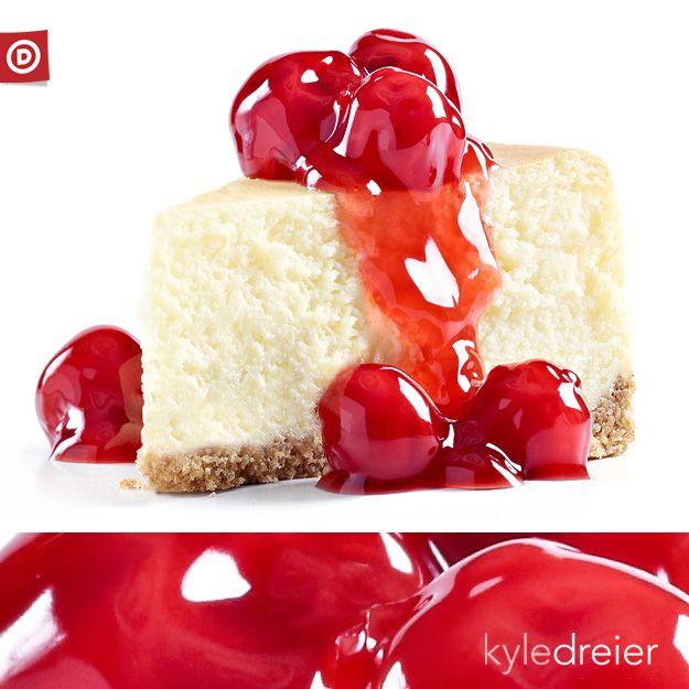 Cherry Cheesecake | Food | Pinterest