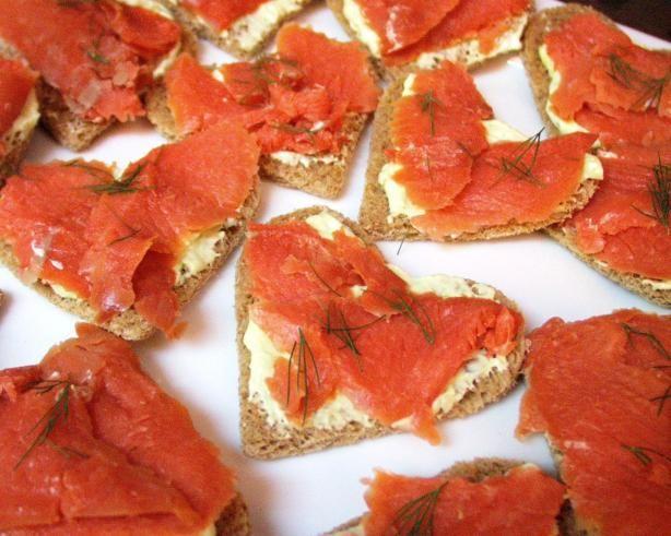 Smoked Salmon and Wasabi Tea Sandwiches | Recipe