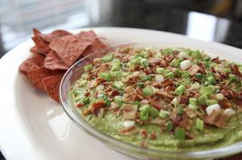 ... Cobb Salad and whip it into a dip. #bacon #avocado #dip #cobb #salad