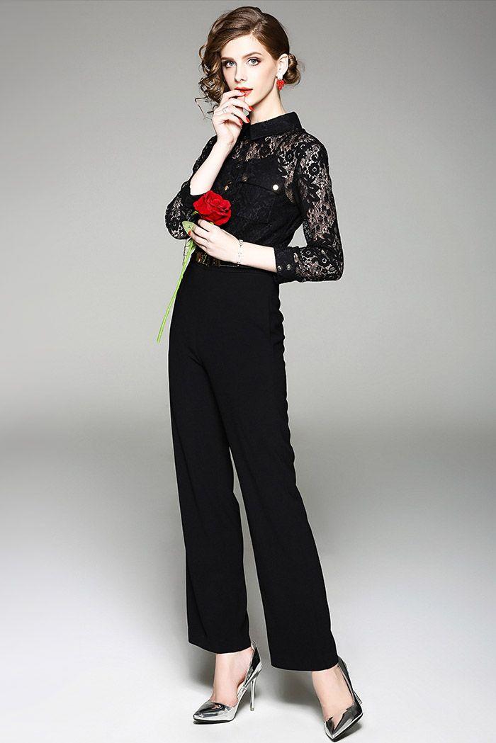 結婚式 服装 50代 女性 パンツスーツ