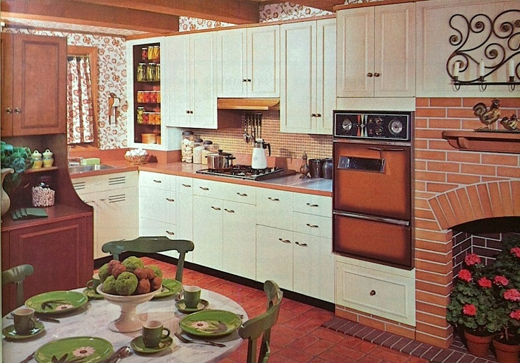 st.charles kitchens, from the doubleday book on interior decorating published in 1965