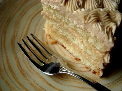 Maple Walnut Layer Cake. when i was little we would get a layer cake ...