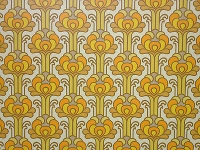 vintage original wallpaper pop art 50s 60s 70s retro eames