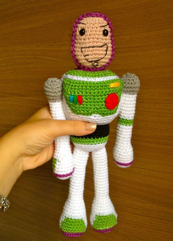 Toy Story Knitting Patterns Woody : Buzz Lightyear Amigurumi apexwallpapers.com
