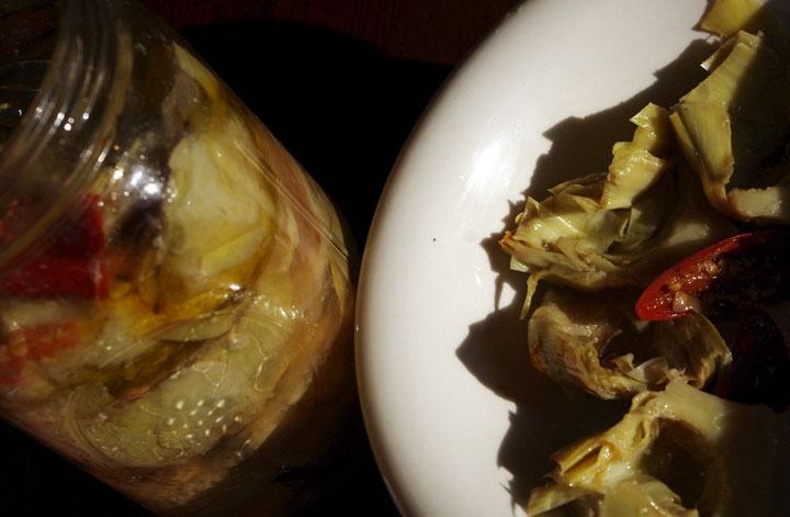 Marinated Artichoke Hearts - - | Cook Me | Pinterest