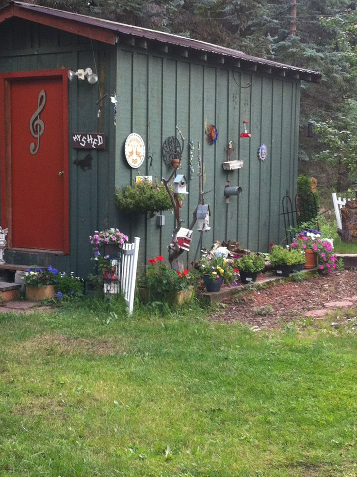 Pin by robin randolph on right brain play place pinterest for Garden shed music studio