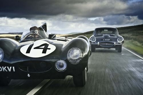 And the race is on! #Jag