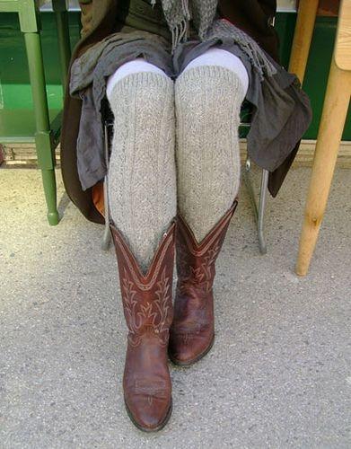 Alpaca Sox Leg Warmers