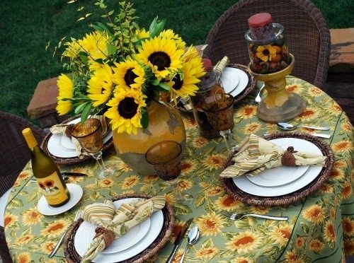 Sunflower Kitchen Decorating Ideas A Is For Autumn F Is