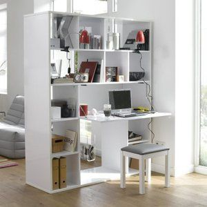 Etag re bureau small apartment pinterest - Castorama bibliotheque etagere ...