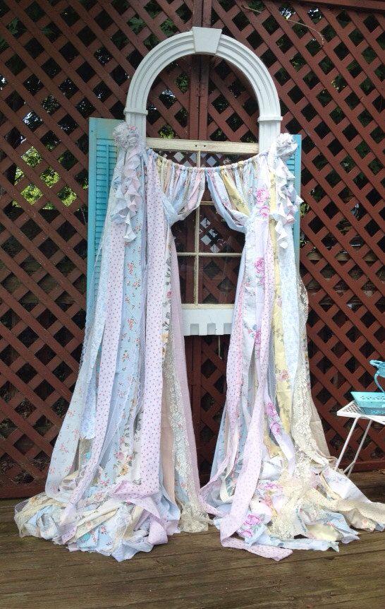 Simply Shabby Chic Curtains Rachel Ashwell Curtains Vintage Fabric Ha ...