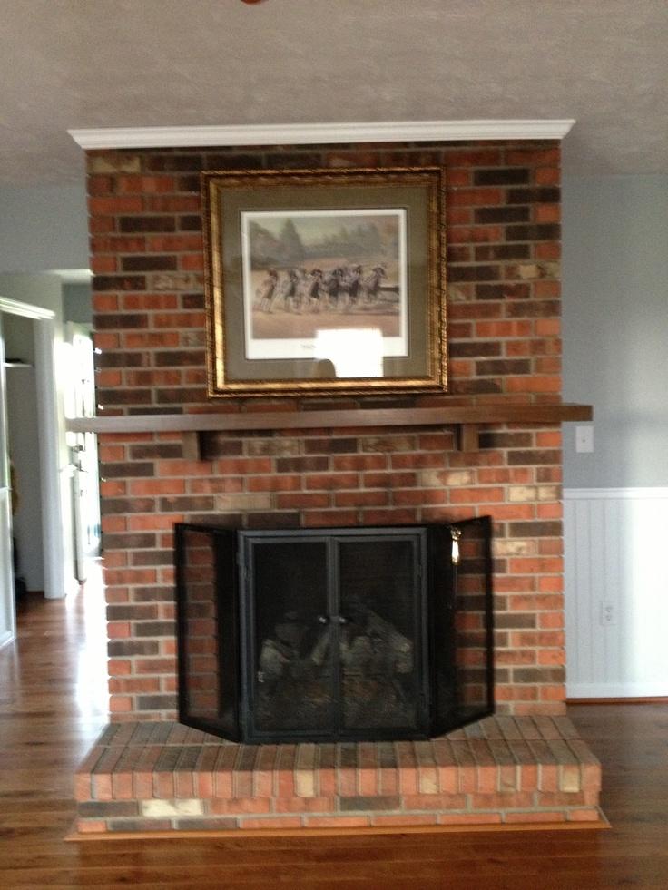 Fireplace Basement Ideas Pinterest
