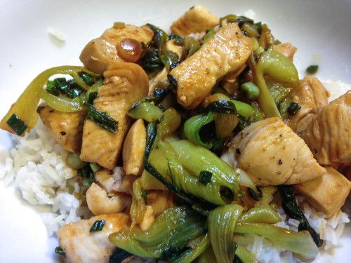 Chicken and Bok Choy Stir-Fry | Asian dishes | Pinterest
