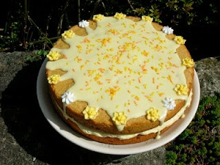 Passionfruit Curd Cake | Favorite Recipes & Food | Pinterest