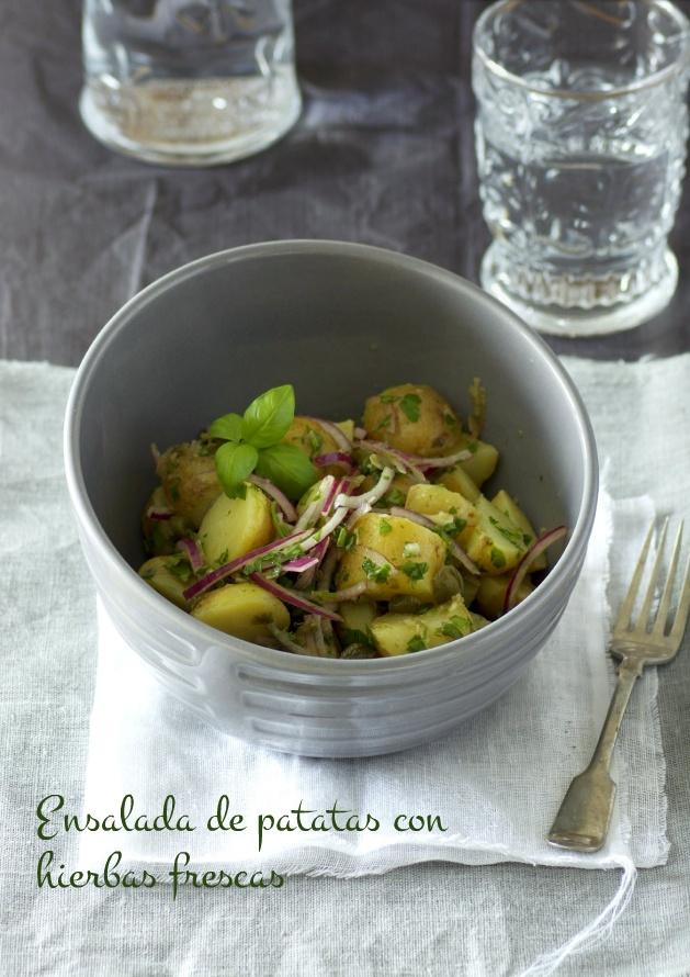 ... herb salad fresh herb potato salad recipe on food52 com fresh herb