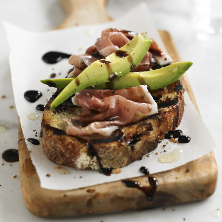 Avocado & Prosciutto balsamic toasties - Woman And Home