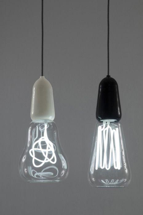 Cool light bulbs fixture pinterest - Cool hanging lights ...
