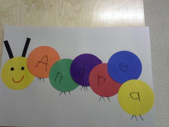 Preschool caterpillar activity ideas for my classroom for Caterpillar crafts for preschoolers