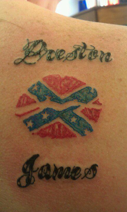 us flag tattoo