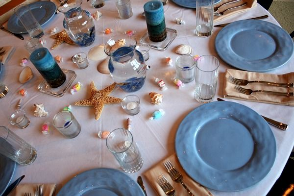 Seafood themed dinner party party ideas pinterest for Table 52 brunch menu