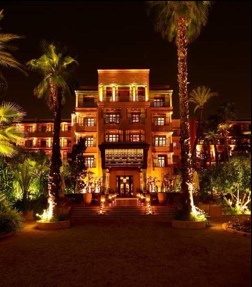 Hotel la mamounia marrakech morocco hotels pinterest for Hotels marrakech
