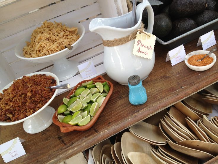 Hill Country Avocado Bar   Cartewheels Catering   Pinterest