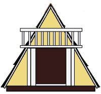 A FRAME STYLE DOG HOUSE PLANS 3 Learning to build