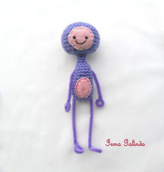 Amigurumi De Alien : Amigurumi Alien Boy