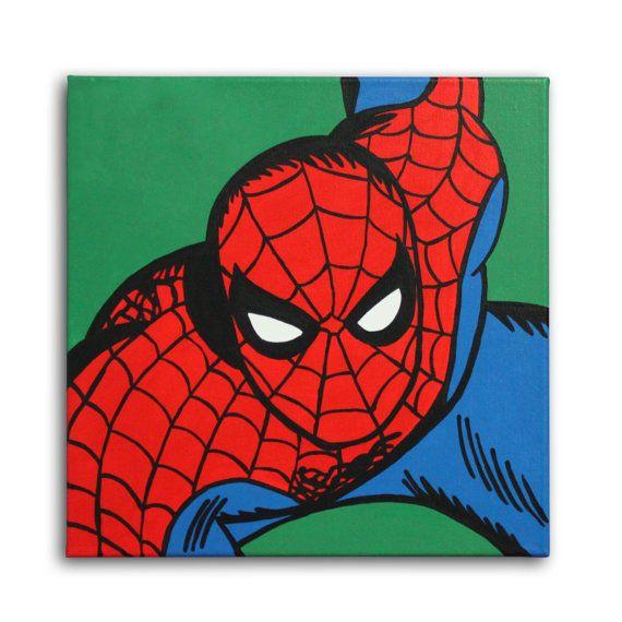 Spiderman pop art - photo#20