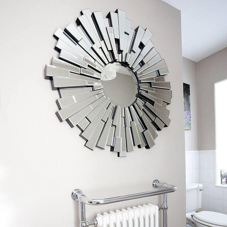Art Deco Style Glass Mirror