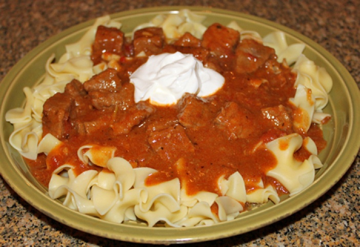 Hungarian Beef Goulash | Cuisine German | Pinterest