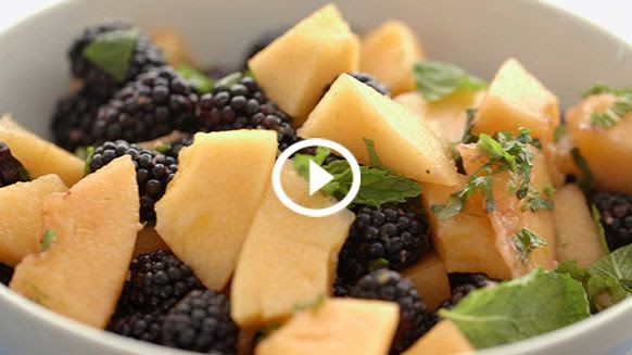 Blueberry Cantaloupe Salad | Salads and the Things They Wear | Pinter ...