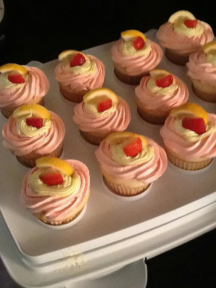 Lemonade cupcakesLemonade Cupcakes
